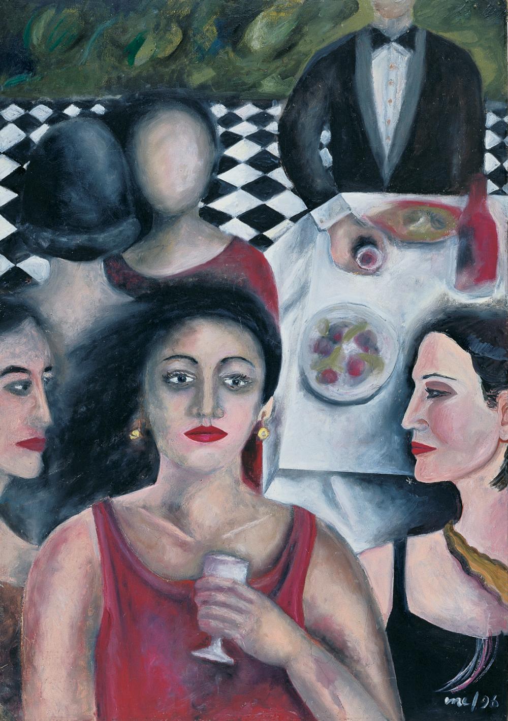 Ladies at reception